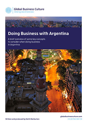 argentina business style Doing business in argentina involves building up a relationship and establishing trust so it is unwise to consider it acceptable to approach companies directly meeting & greeting the most common form of greeting between business personnel is a handshake and slight nod of the head.