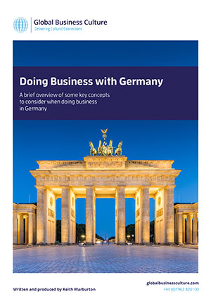 germany business culture Portance of social interaction of people in an organization the aim of the present  article is twofold we aim, firstly, to examine organizational culture in germany.